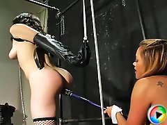 Maxine X and her girlfriend Zen get nasty in the dungeon