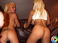 Layla and Maxine X shove huge toys up their asses for orgasmic pleasures
