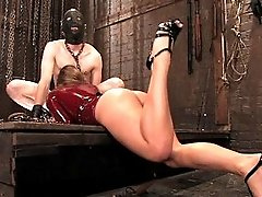 Slaveboy objectified and used like a real piece of slut meat!